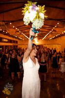 10. Bouquet and Garter Toss Web